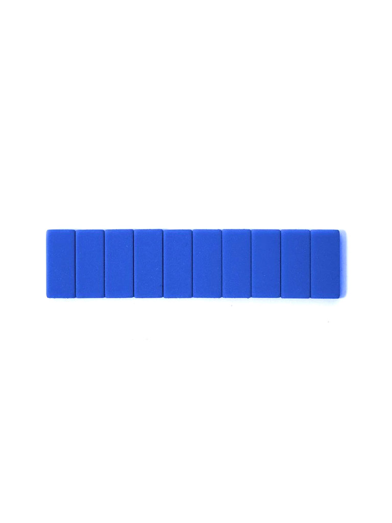 Replacement Erasers Set, Blue