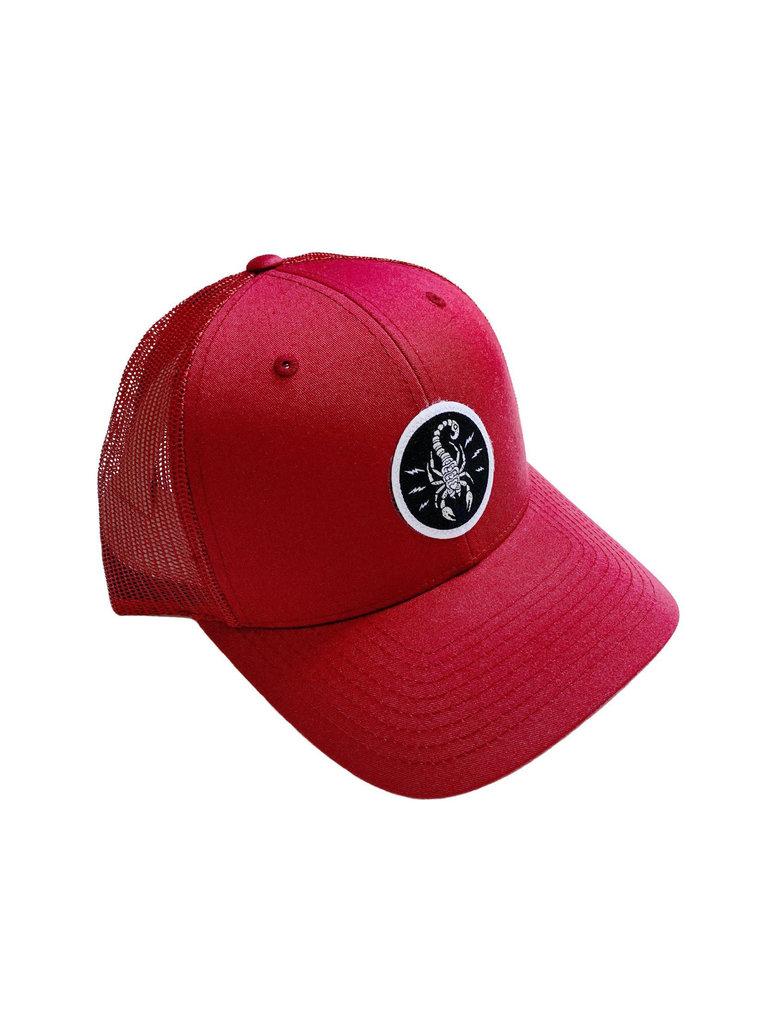 Electric Scorpion Trucker Hat
