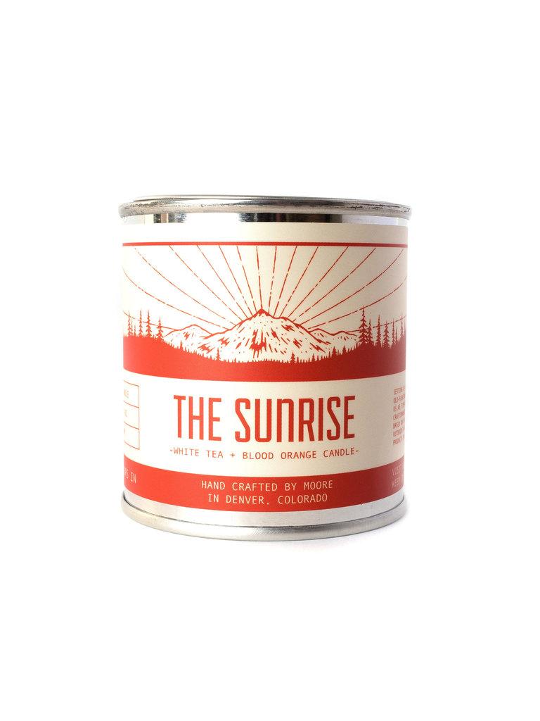 Sunrise Candle, Half-Pint
