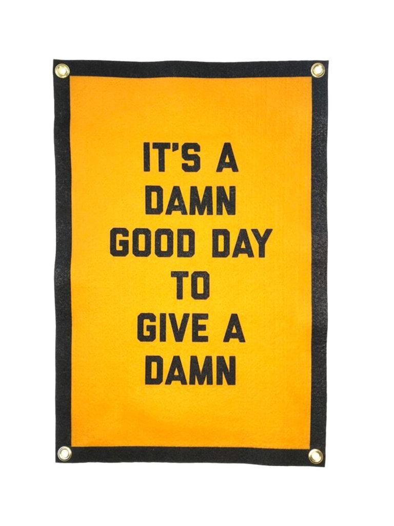 Give a Damn Banner
