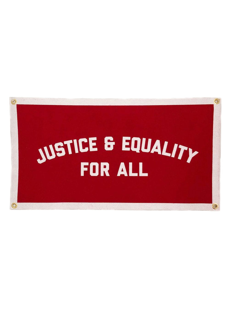 Justice & Equality Banner