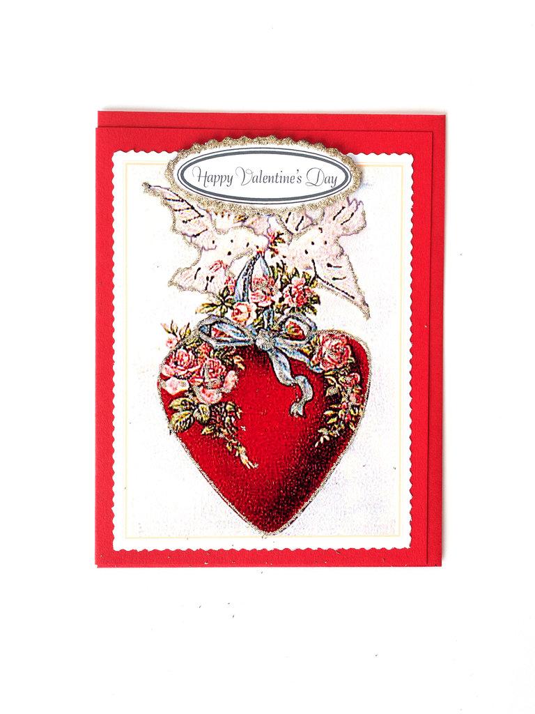 Heart Doves Card
