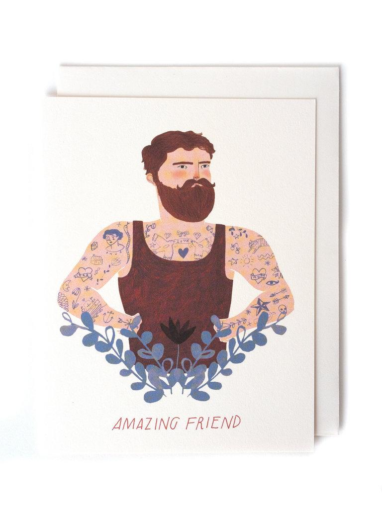 Bearded Friend Card