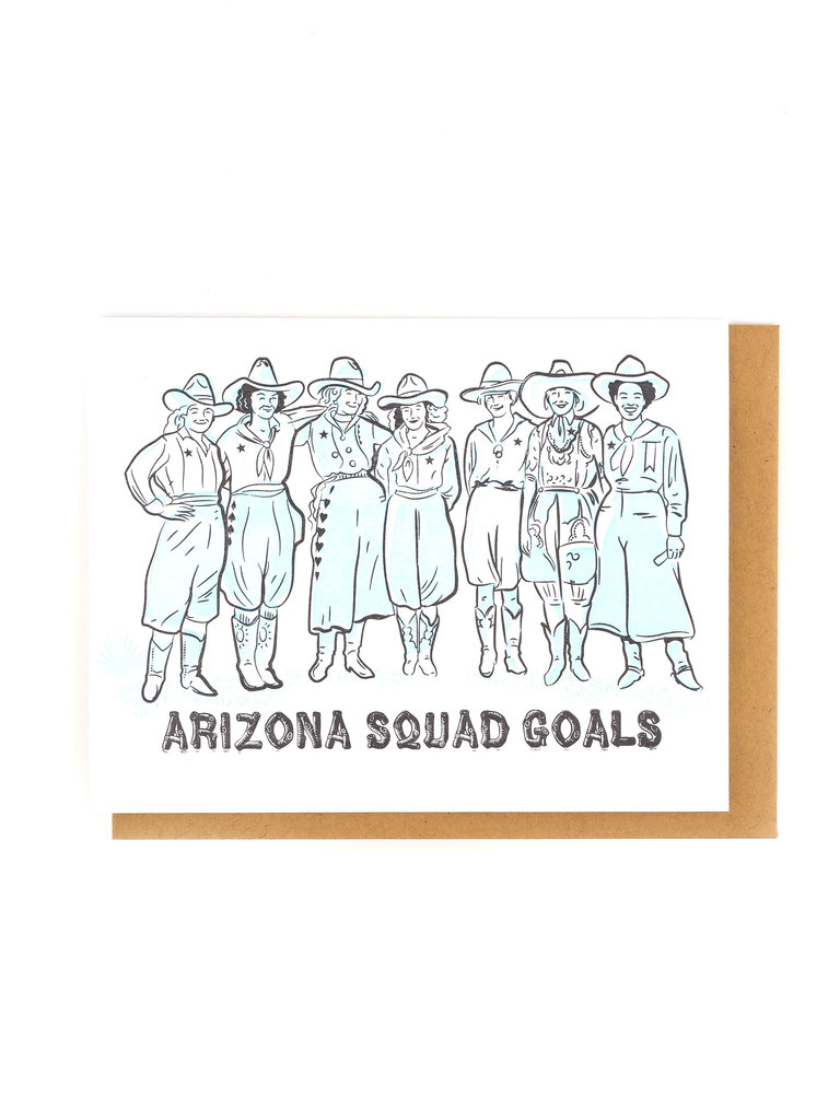 Arizona Squad Goals Card