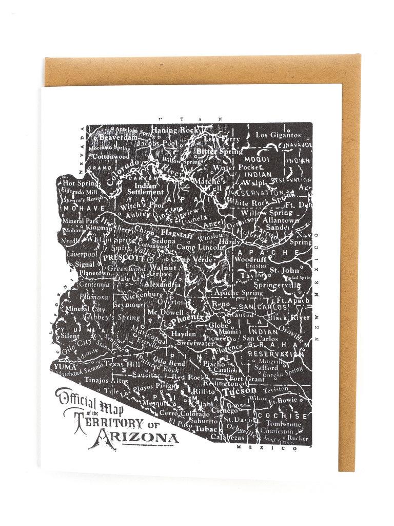 Arizona Territory Card