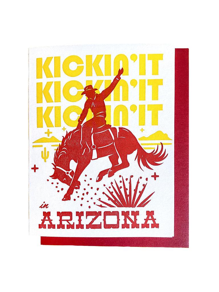 Kickin' It Arizona Card