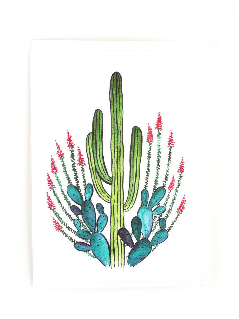 Desert Queen Card