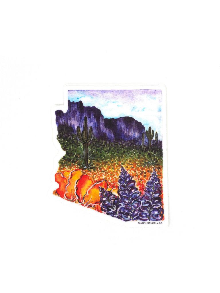 AZ Superbloom Sticker
