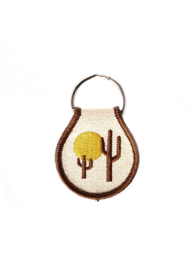 Desert Vibes Patch Keychain