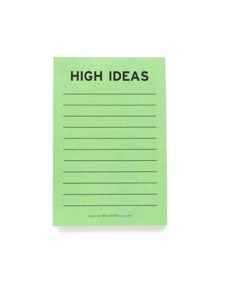High Ideas Notepad