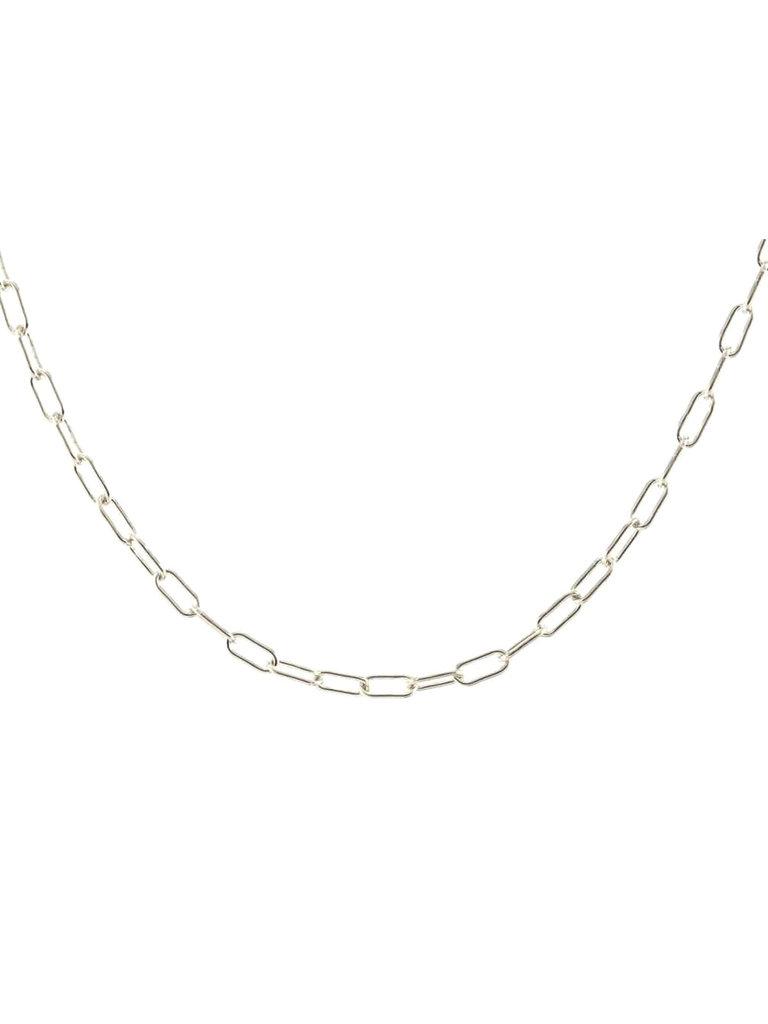 Silver Thin Drawn Cable Choker