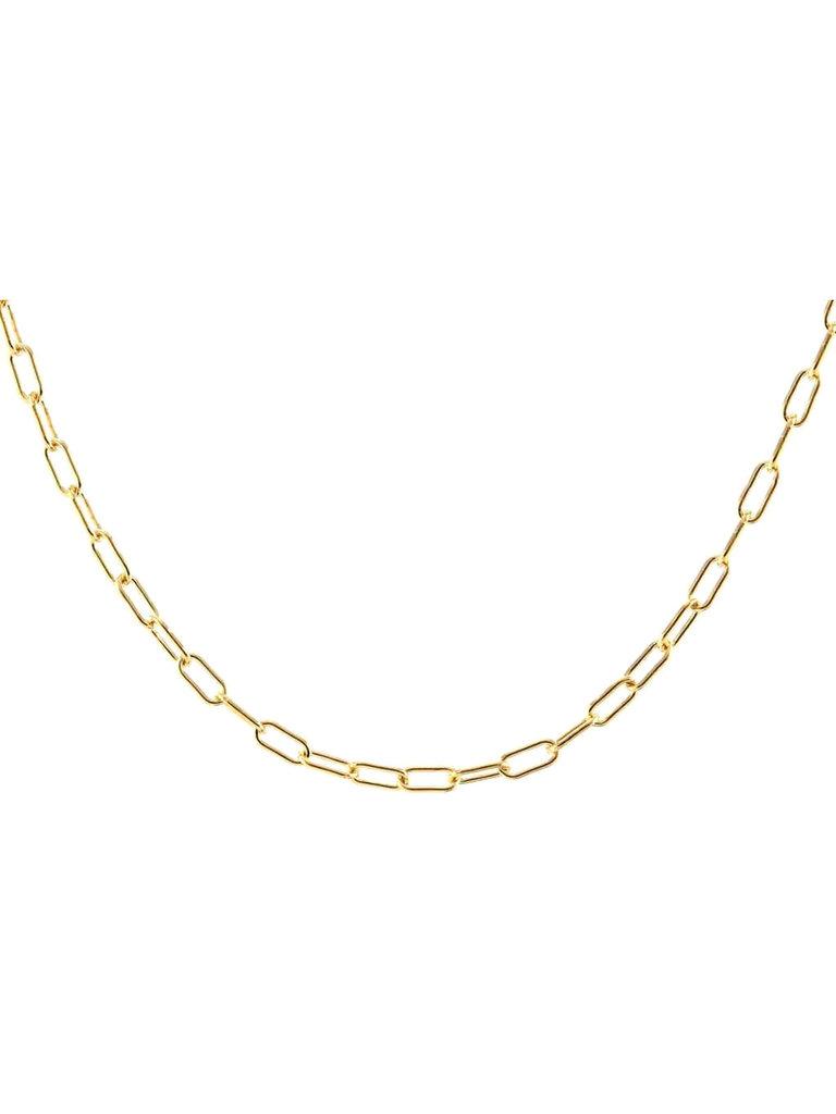 Gold Thin Drawn Cable Choker