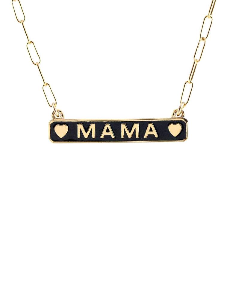 Enamel Mama Necklace