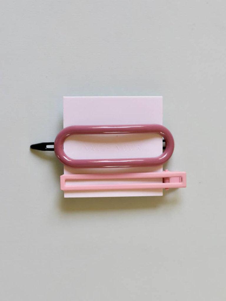 Byron Clip Set, Pink