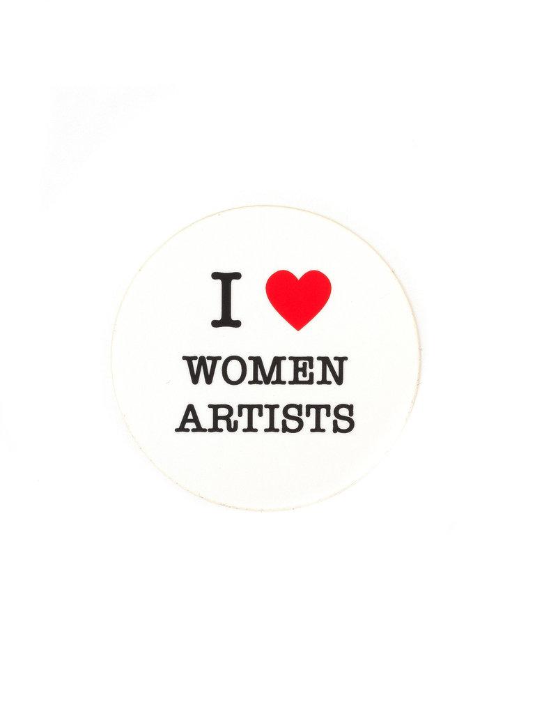 Sticker Women Artists
