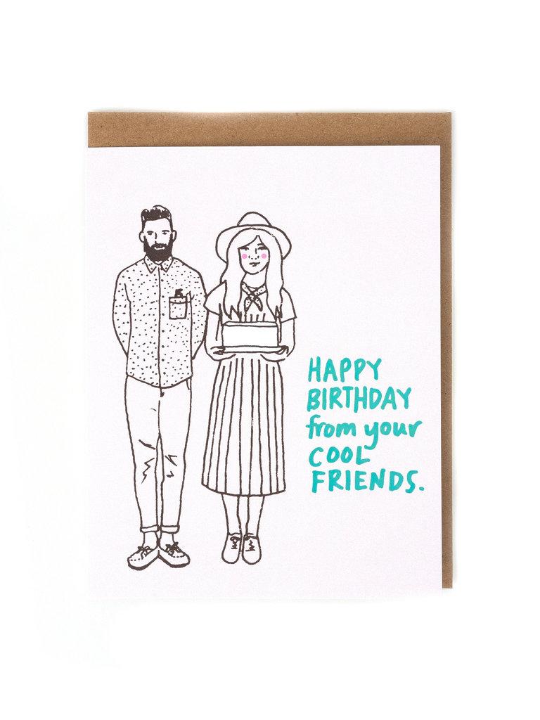 Cool Friends Card