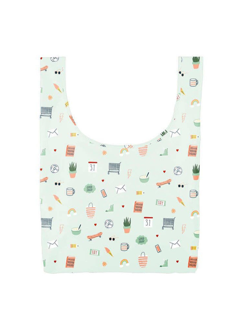 Medium Twist & Shout Reusable Tote