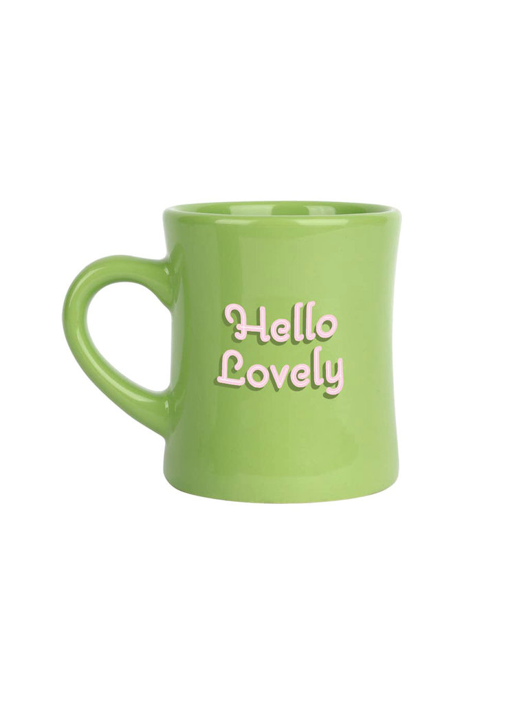Hello Lovely Diner Mug