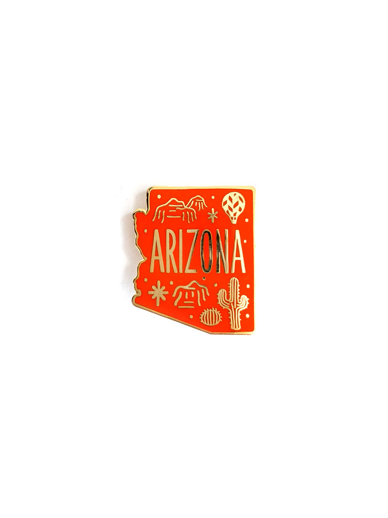 Arizona Lapel Pin