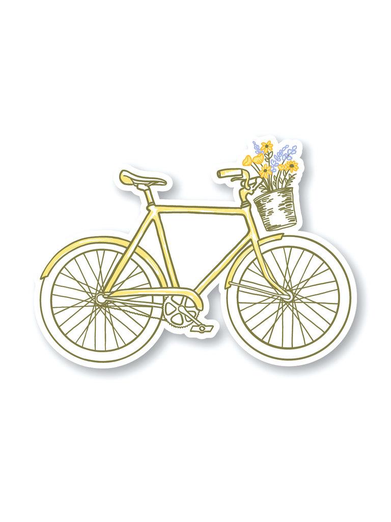Flowers Bike Sticker