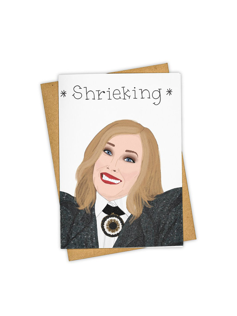 Shrieking Card