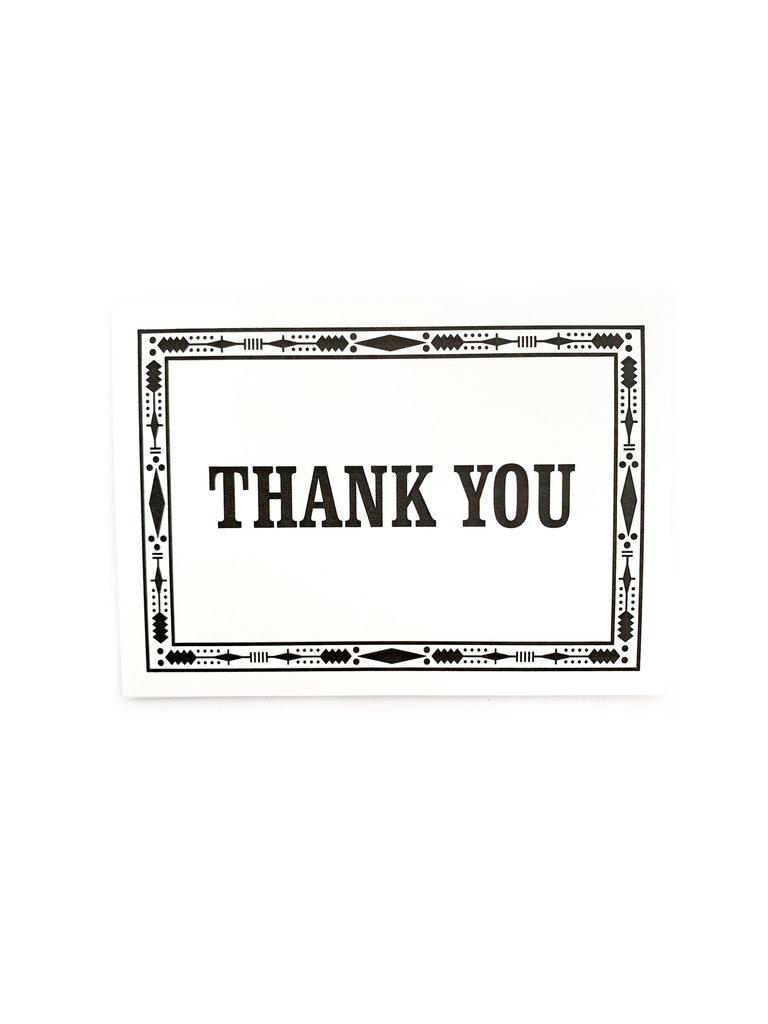 Thank You Native Card