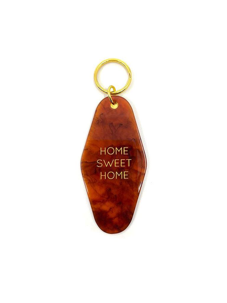 Home Sweet Home Tortoise Key Tag