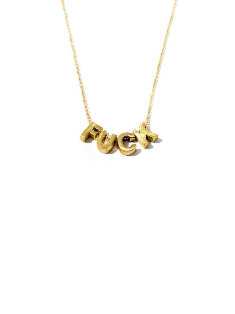 F*ck Necklace
