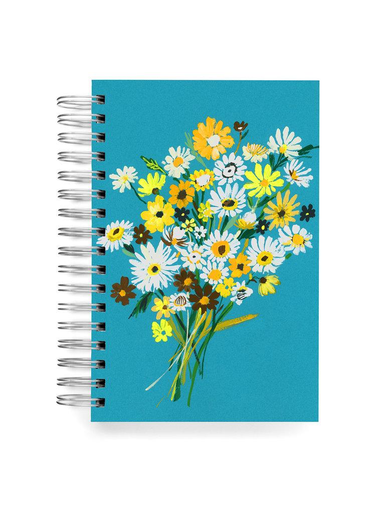 Retro Daisies Journal
