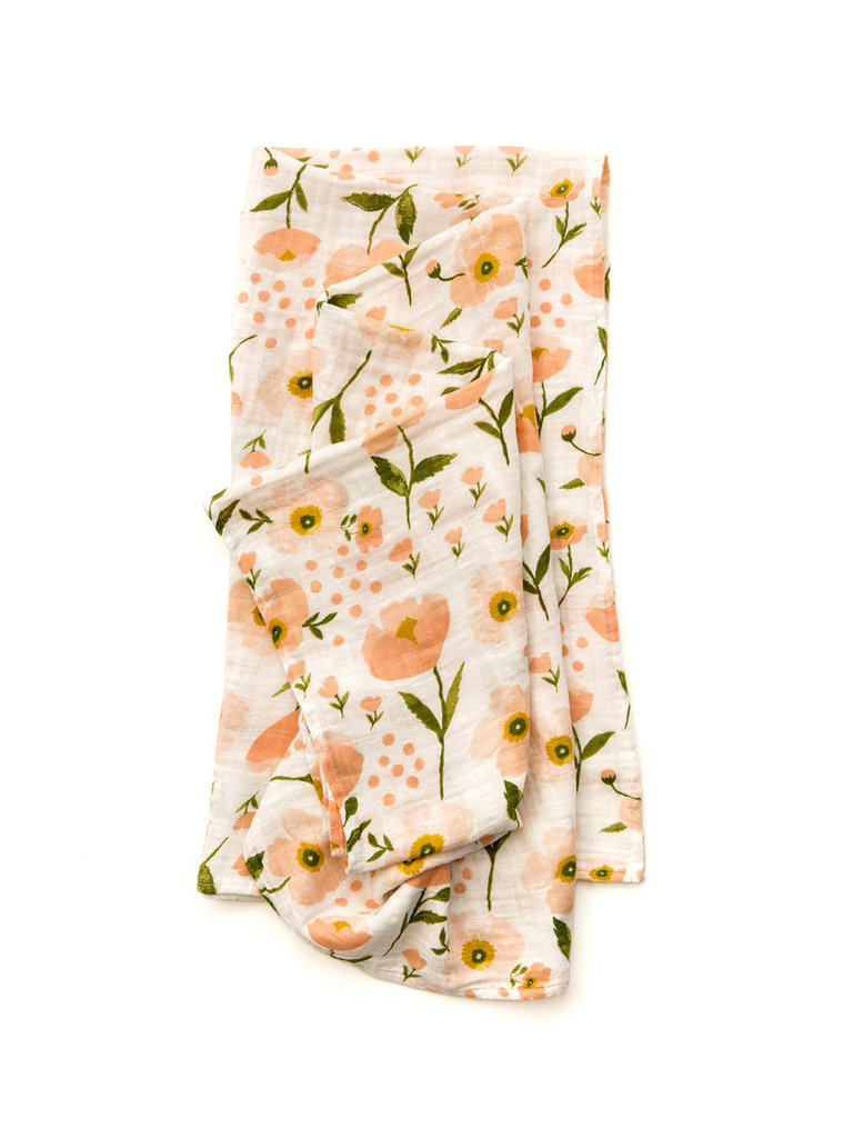 Blush Bloom Swaddle
