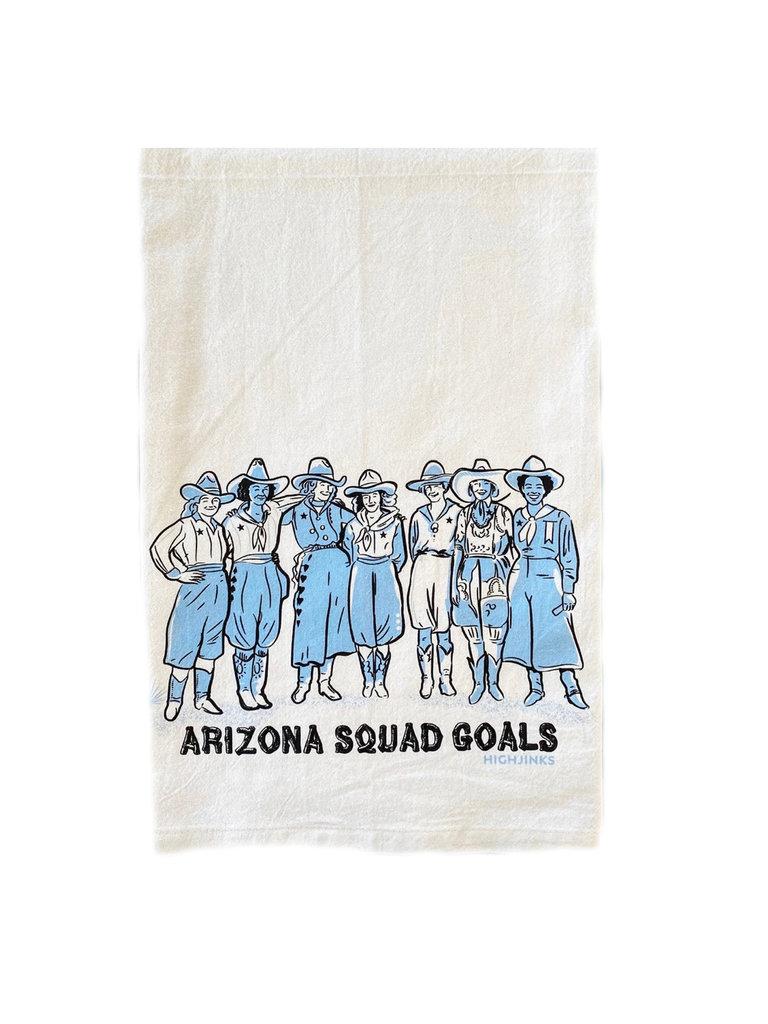 AZ Squad Goals Bar Towel