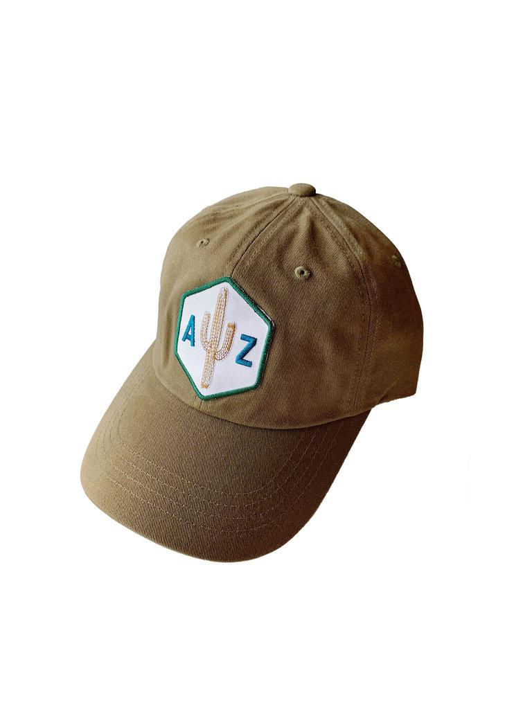AZ Saguaro Scout Dad Hat, Loden