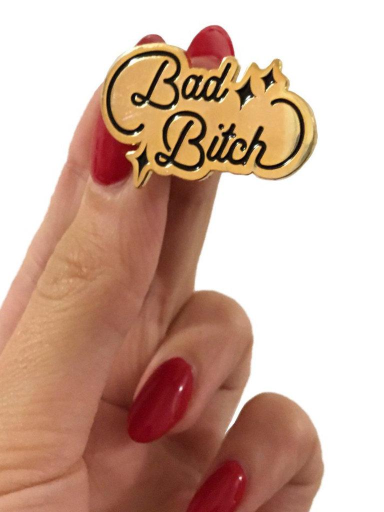 Bad B*tch Lapel Pin