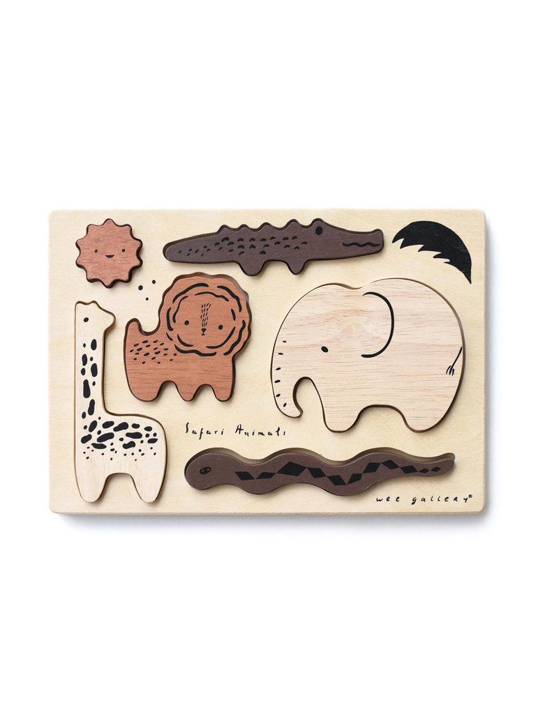 Safari Wooden Tray Puzzle