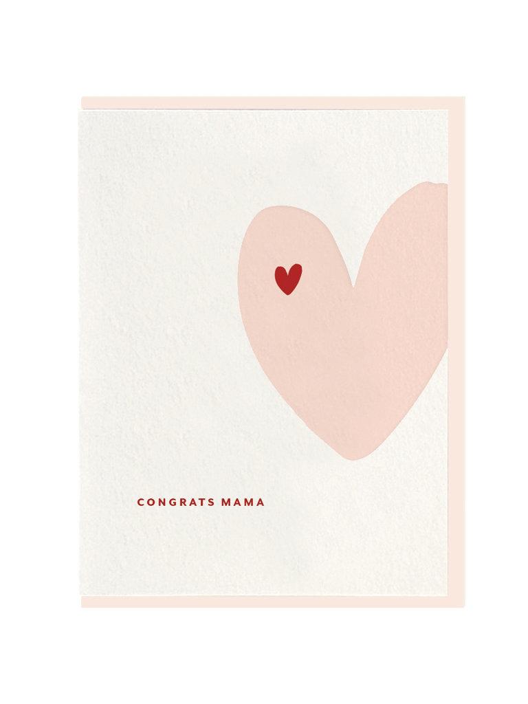 Congrats Mama Card