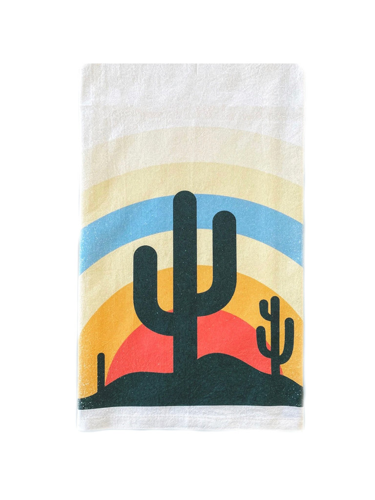 Desert Sun Rays Bar Towel