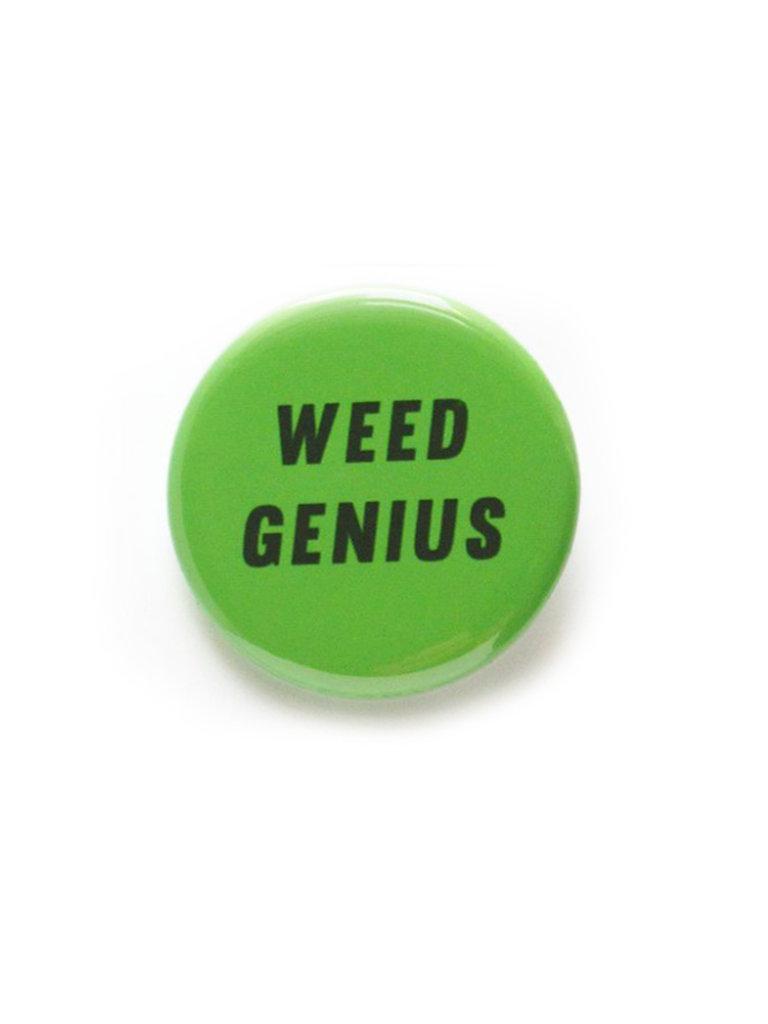 Weed Genius Button