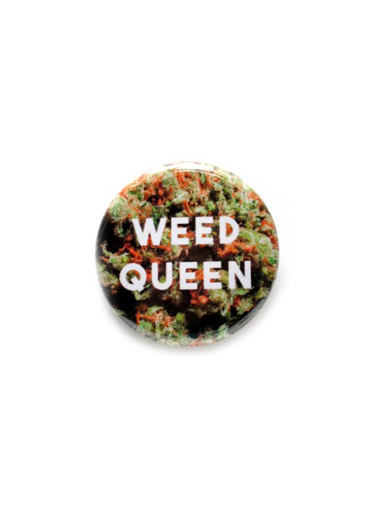 Weed Queen Button