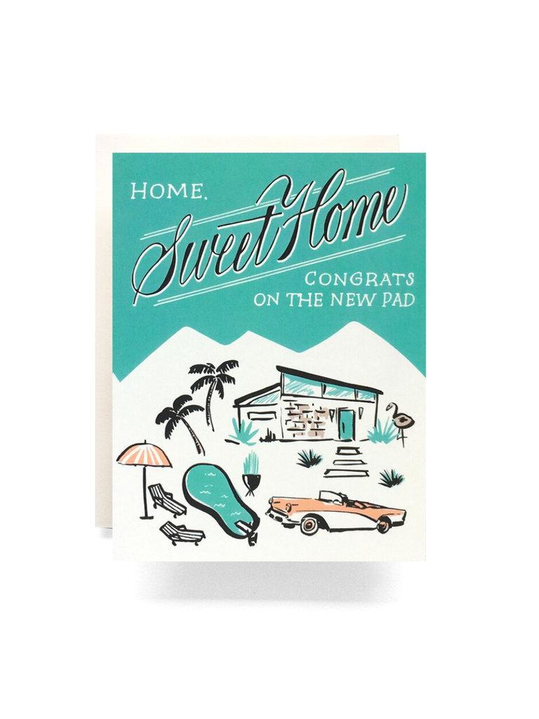 Mid Century Housewarming Card
