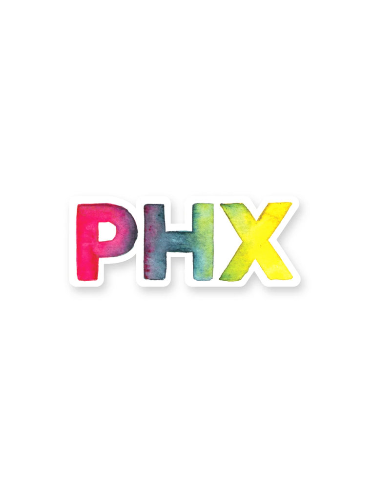 Rainbow Phoenix Sticker