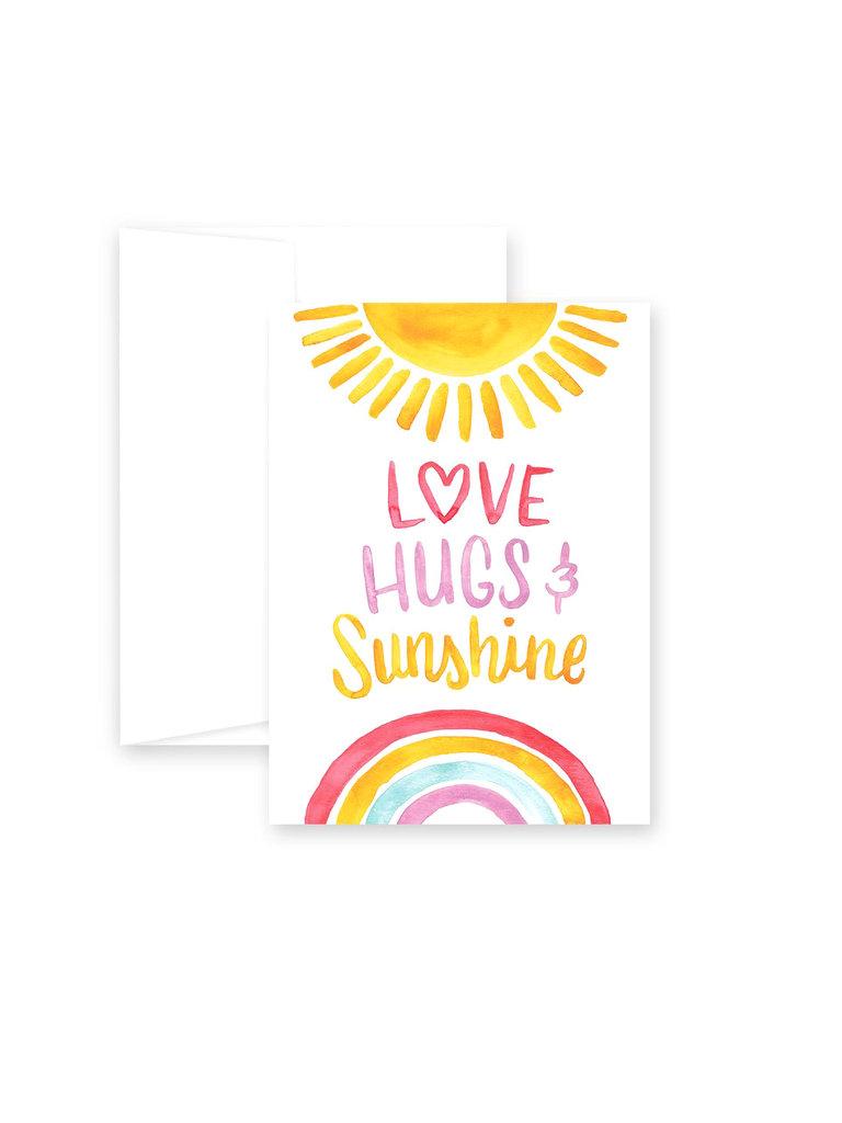 Love, Hugs, & Sunshine Card