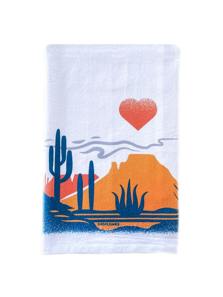 Heart of The Desert Bar Towel