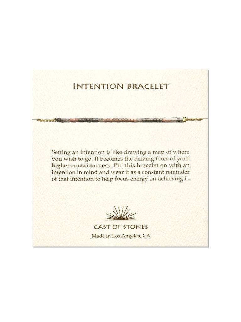 Rose Pink Intention Bracelet
