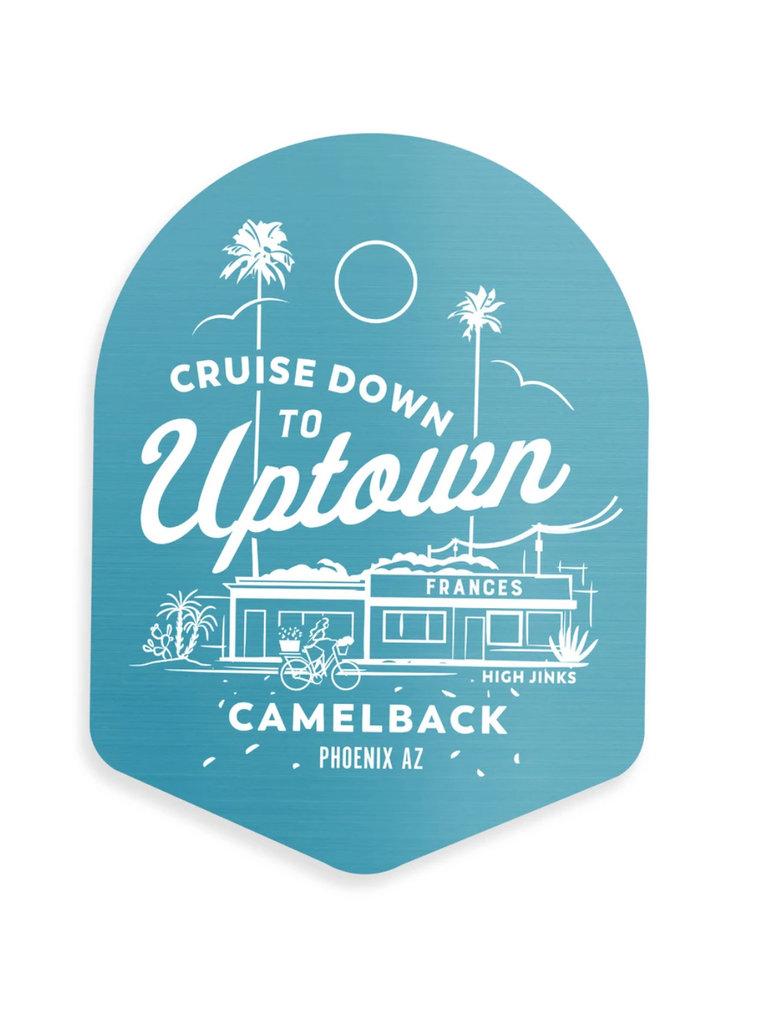 Uptown Sticker