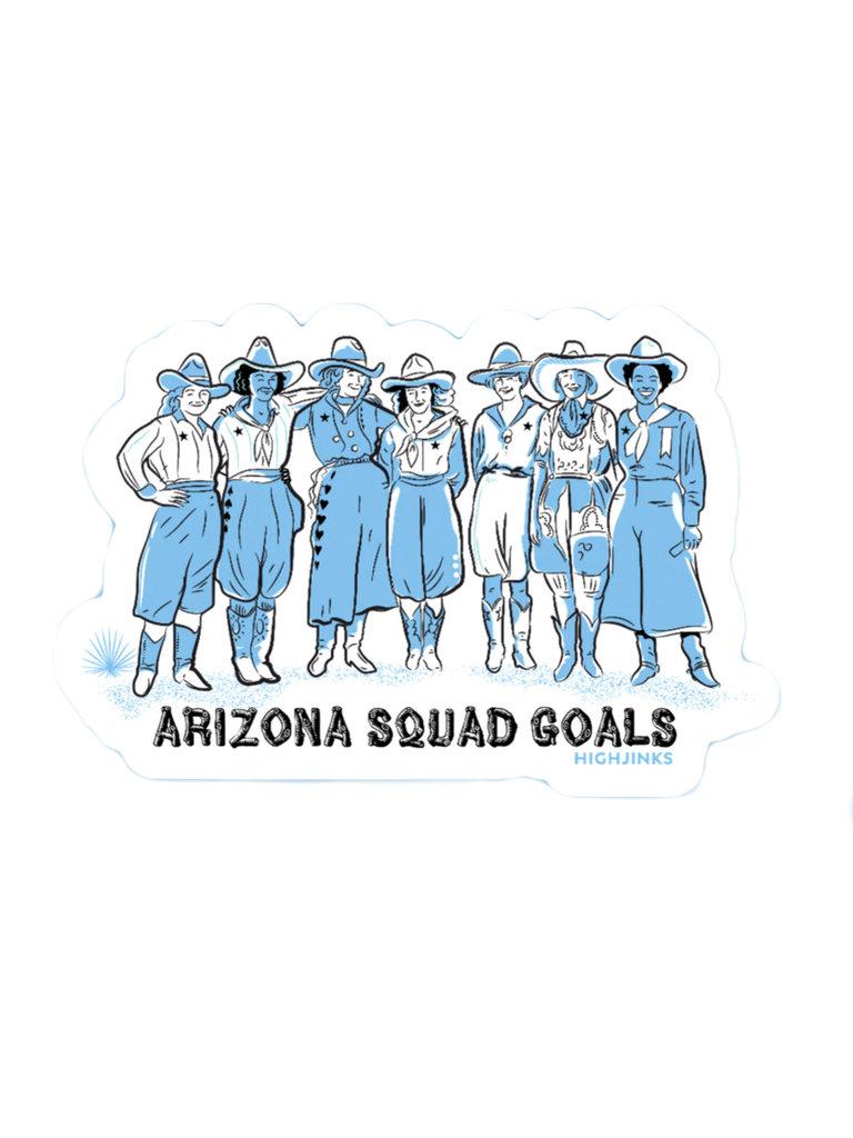 AZ Squad Goals Sticker