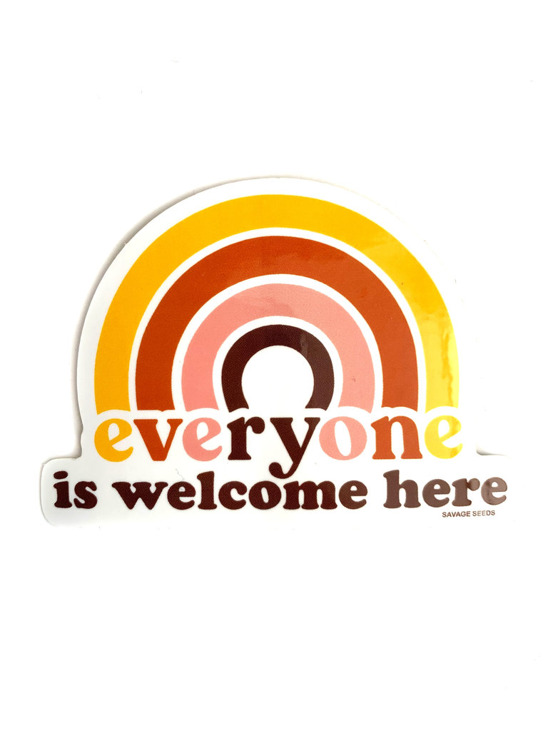 Everyone Is Welcome Sticker