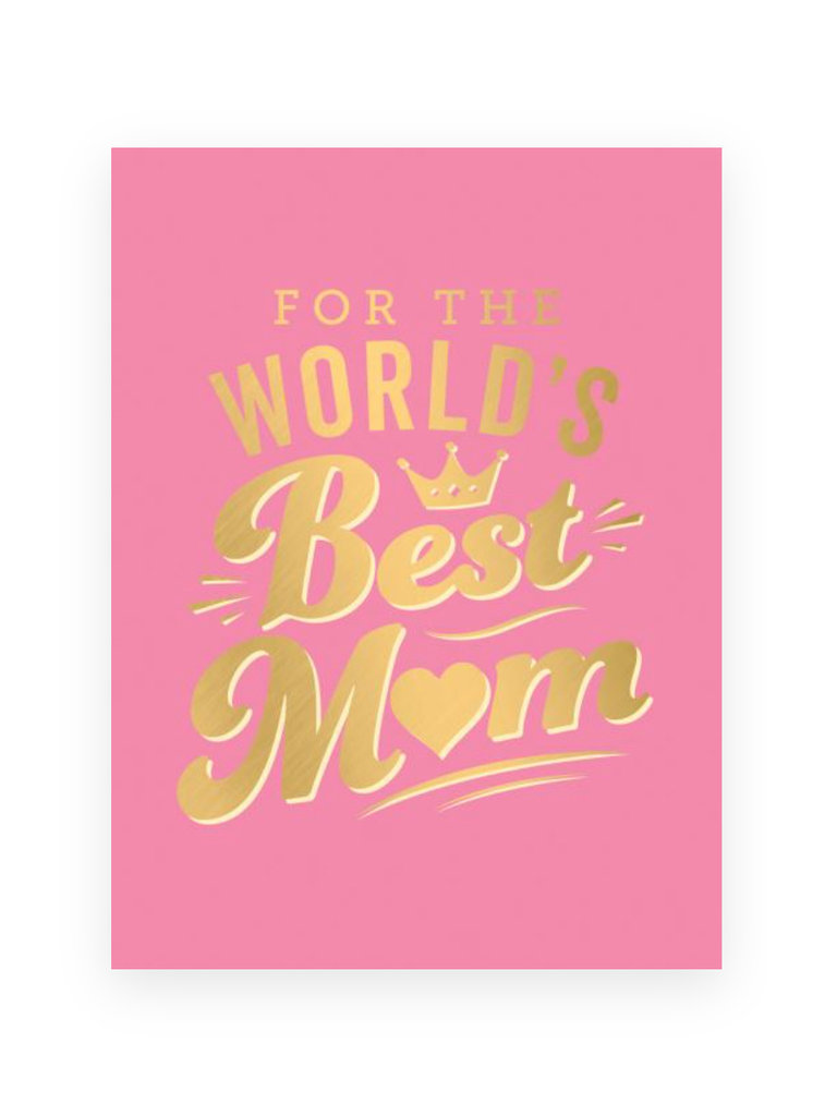 For The World's Best Mom Book