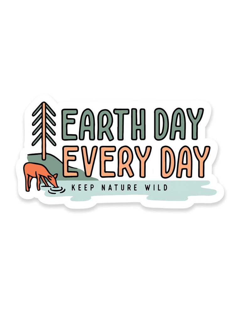 Earth Day Every Day Sticker