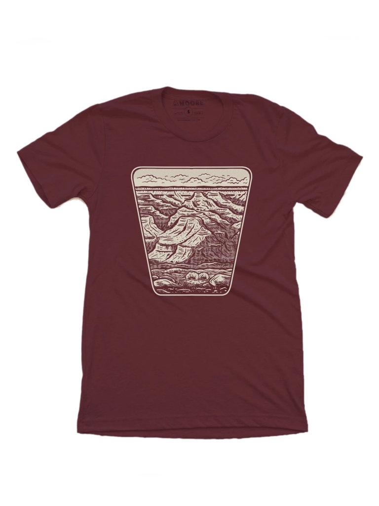 Grand Canyon T-Shirt Maroon