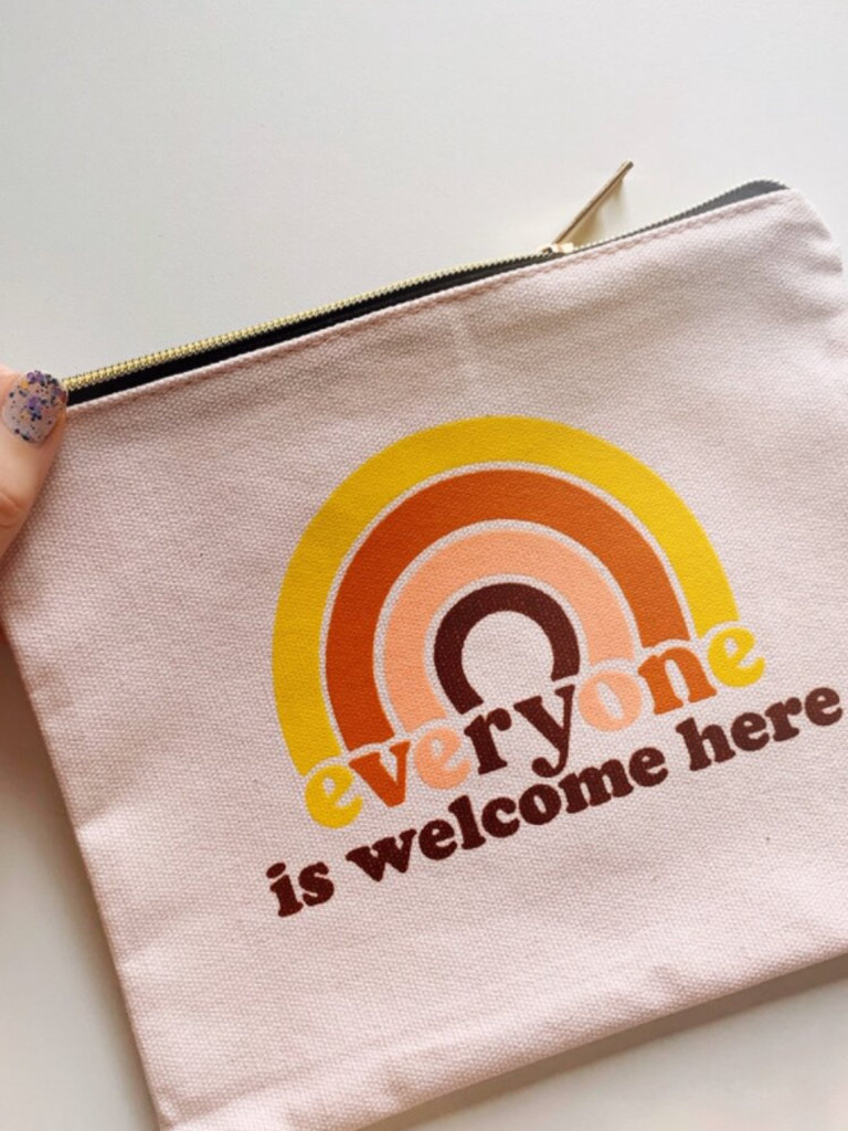 Everyone Is Welcome Pouch